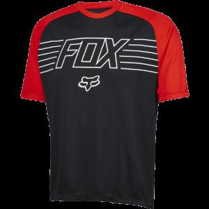 FOX Ranger Prints SS Jersey Black