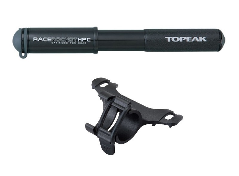 Topeak RACE ROCKET HPC Čierna 2