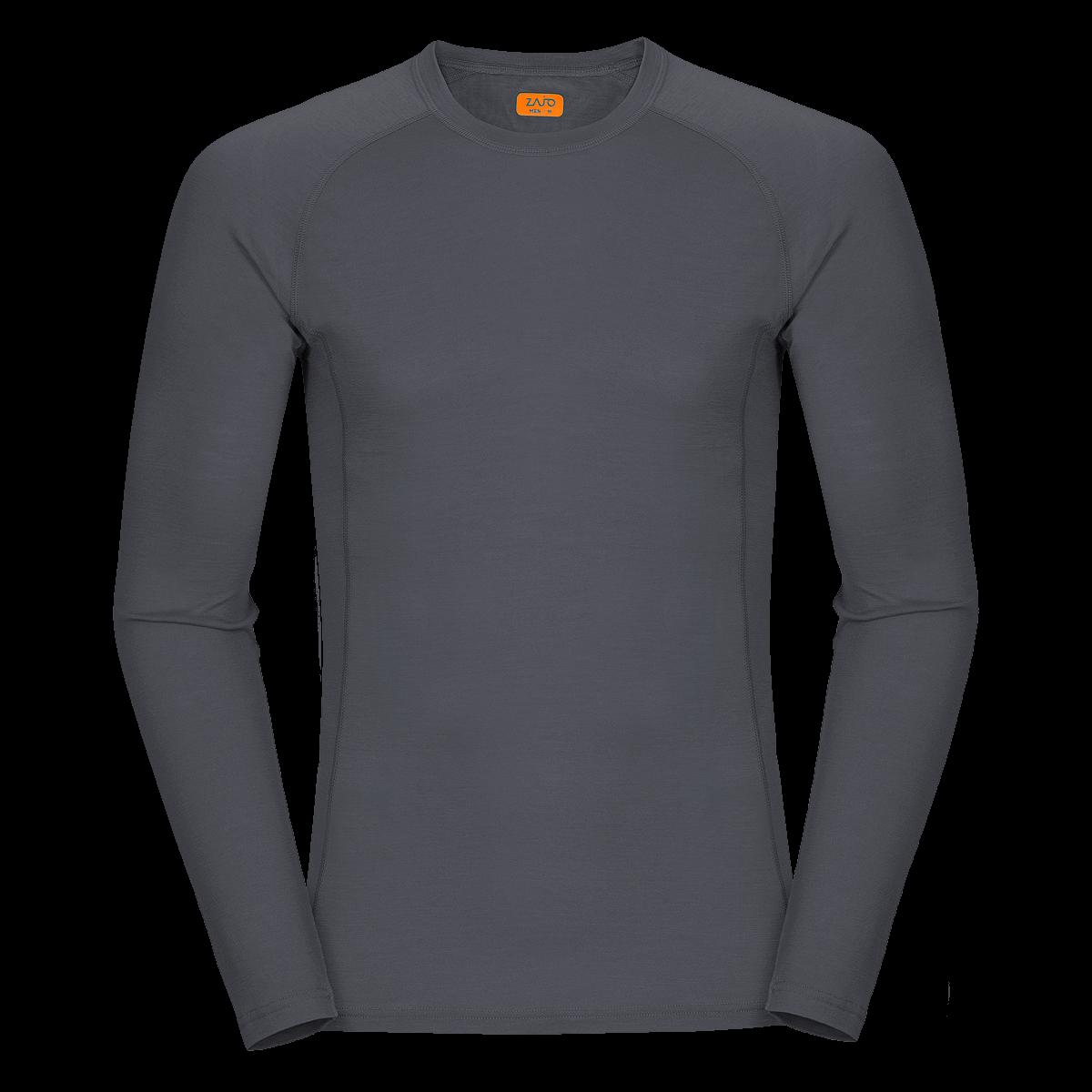 99dccdc1a Zajo Bjorn Merino Tshirt LS Gray - SPORTCOM Outdoor