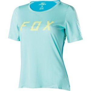 FOX Womens Attack Jersey Ice Blue