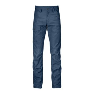 Fjällräven Nils Trousers Regular Uncle Blue