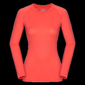 Zajo Elsa Merino W Tshirt LS Coral