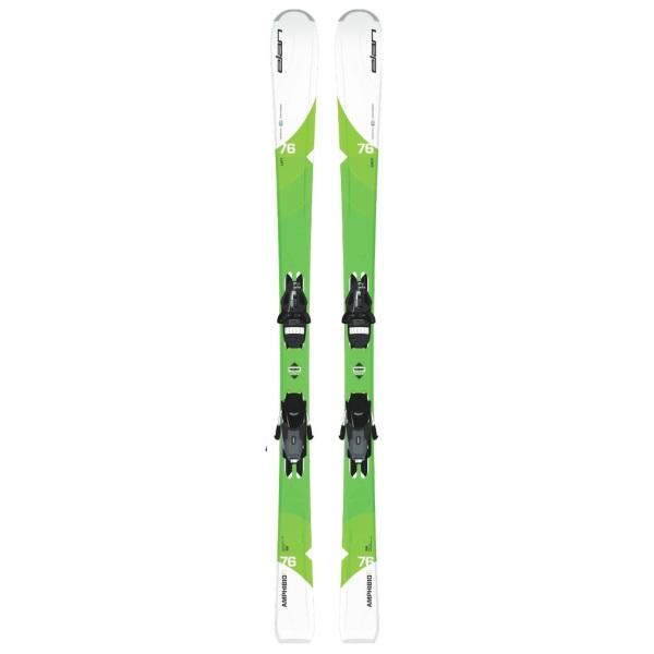 Elan Amphibio 76 Ti White/Green 152 cm + EL 11.0 Shift Black/Smoke 1