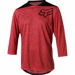 Fox Racing Indicator 3/4 Asym Jersey Bright Red