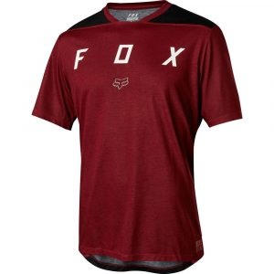 Fox Racing Indicator SS Mash Camo Jersey Dark Red