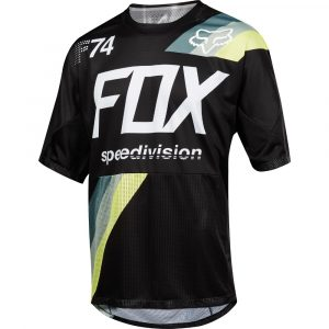 Fox Racing Demo SS Drafter Jersey Black