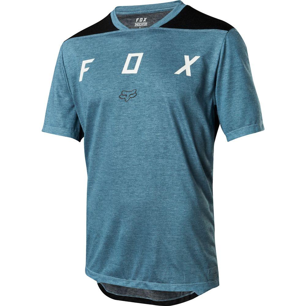 Fox Racing Indicator SS Mash Camo Jersey Slate Blue 1