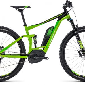 Cube Stereo Hybrid 120 EXC 500 Green ´n´ Leafgreen 2018