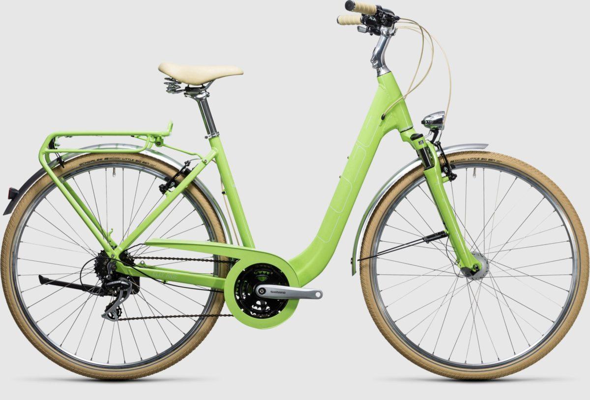 Cube Elly Ride Green 'n' White 2017 1