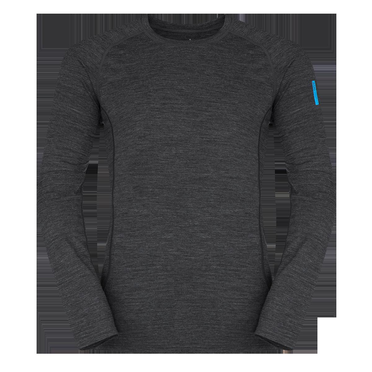 Zajo Bjorn Merino Tshirt LS Black 1
