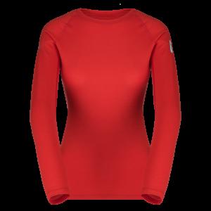 Zajo Elsa Merino W Tshirt LS Racing Red