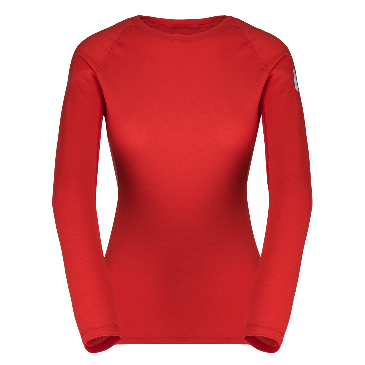 Zajo Elsa Merino W Tshirt LS Racing Red 1