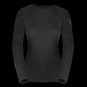 Zajo Elsa Merino W Tshirt LS Black