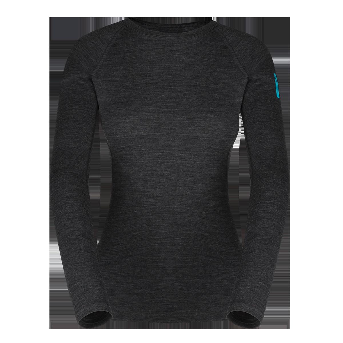 8a2f849ccb95 Zajo Elsa Merino W Tshirt LS Black - SPORTCOM Outdoor