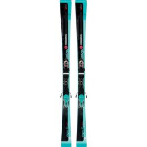 Rossignol Famous 2 Xpress + Xpress W 10 B83 Black/Blue