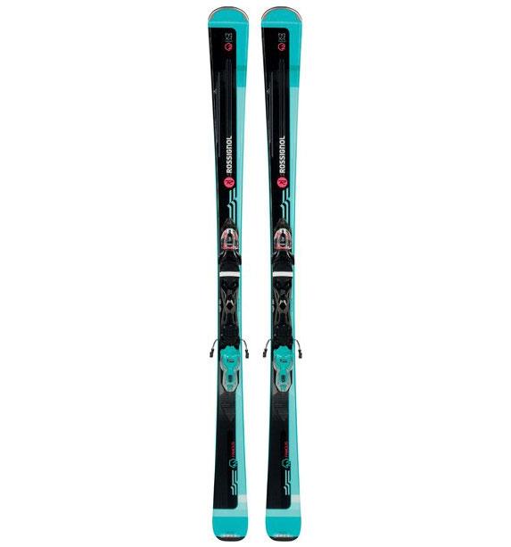 Rossignol Famous 2 Xpress + Xpress W 10 B83 Black/Blue 1