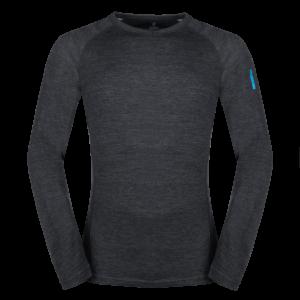 Bergen Merino T-shirt LS Black