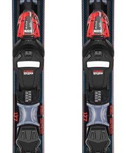 LYŽE S VIAZ.: REACT R6 COMPACT XPRESS 170cm (RAILJ01)+XPRESS 11 GW B83 BK/RD(FCID003)