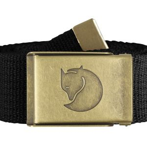 Opasok Fjäll Räven Canvas Brass Belt 4 cm
