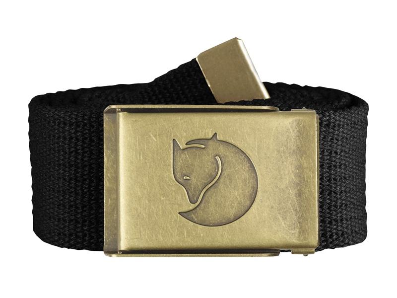 Opasok Fjäll Räven Canvas Brass Belt 4 cm 1