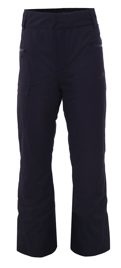 2117 Gärdet - ECO pánske lyžiarske ľahko zateplené lyžiarske nohavice (15000 mm) - Black/Navy 1