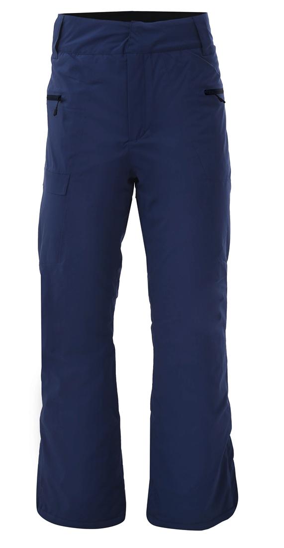 2117 Gärdet - ECO pánske lyžiarske ľahko zateplené lyžiarske nohavice (15000 mm) - Black/Navy 2