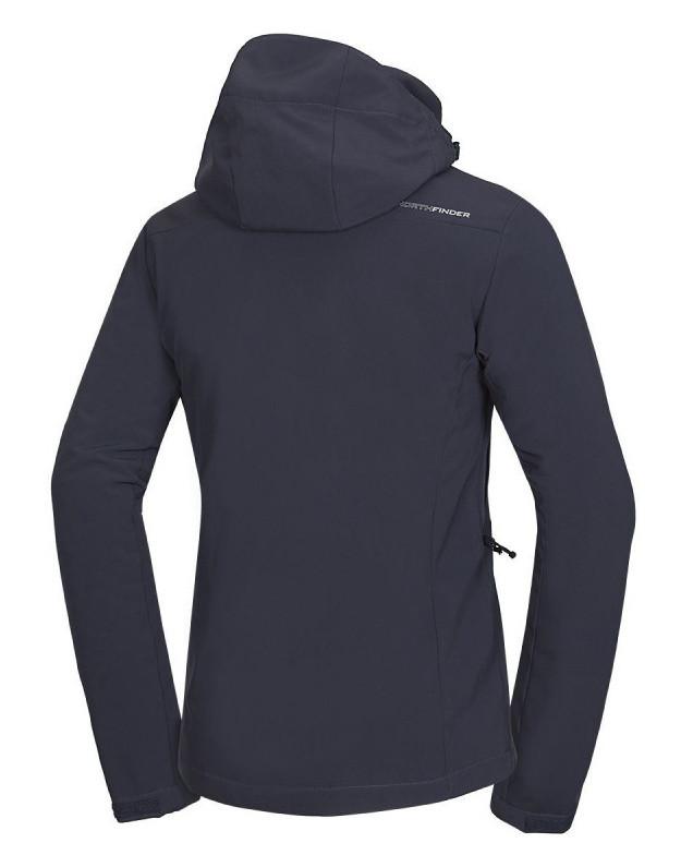 Pánska softshell lyžiarská bunda Northfinder DENVER - blue/grey 2