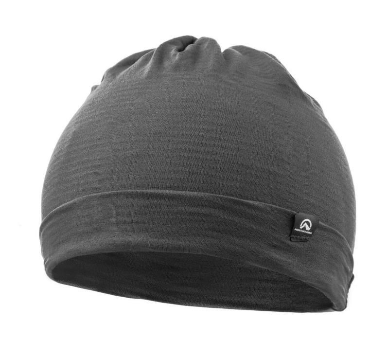NORTHFINDER unisex čiapka techno stretch 2L RUPHI - Grey/Blue 1