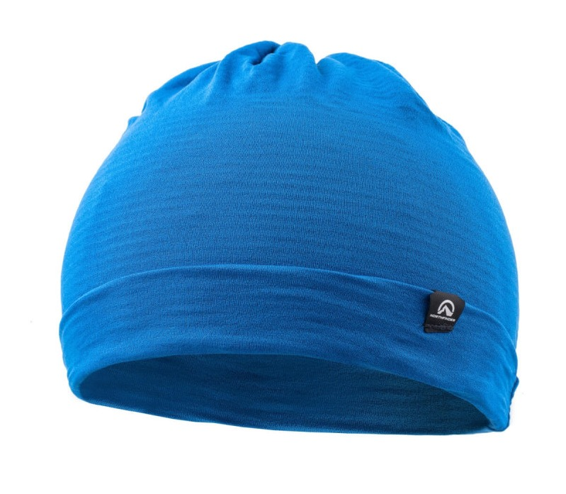 NORTHFINDER unisex čiapka techno stretch 2L RUPHI - Grey/Blue 2