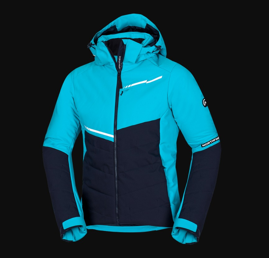 NORTHFINDER pánska bunda lyžiarska zateplená plná výbava NORTHIJN 1