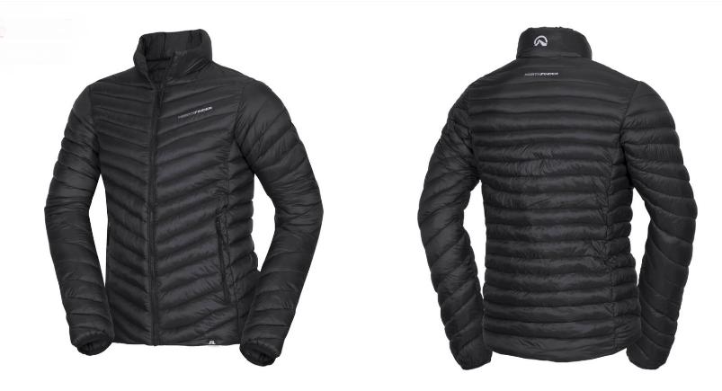 NORTHFINDER pánska bunda zateplená thermal active urban VLANDO black 1