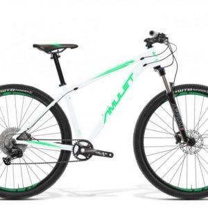 Bicykel AMULET Night cat 4.0 29″ 2021, white shiny/mint shiny