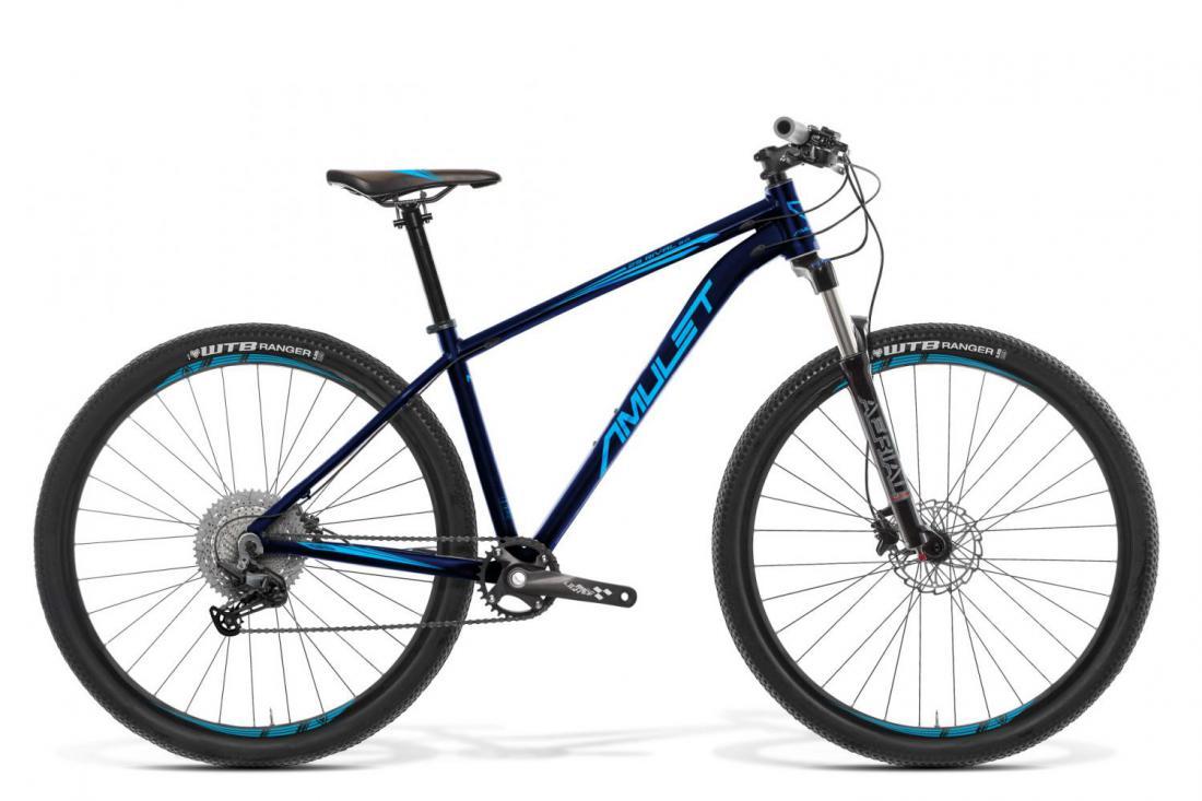 "Bicykel AMULET Rival 8.0 29"" 2021, dark petroleum matt/blue matt 1"