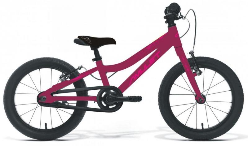 """Bicykel AMULET Mini SuperLite 16"""" 2021, dark pink metalic/pink shiny 1"""