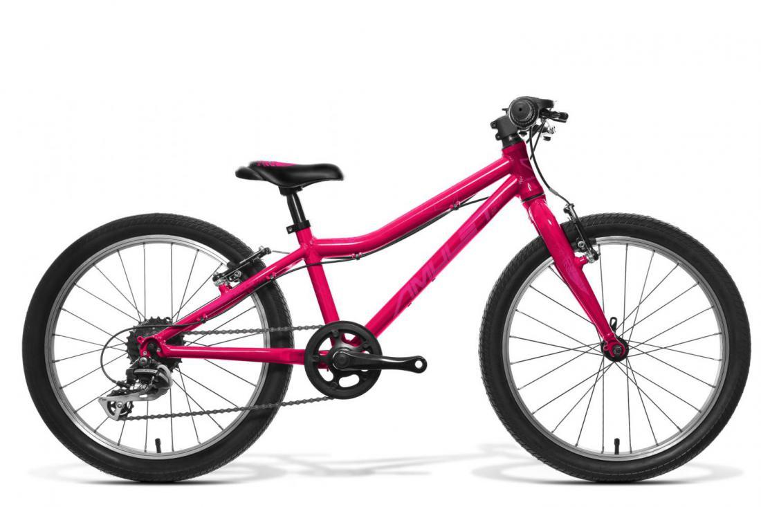 """Bicykel AMULET Tomcat 20"""" 2021, dark pink metalic/violet shiny 1"""