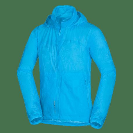 Northfinder pánska multišportová bunda zbaliteľná 2L NORTHKIT - GREEN/BLUE 2