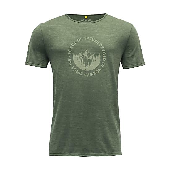 Pánske tričko Devold Leira Man Tee 1