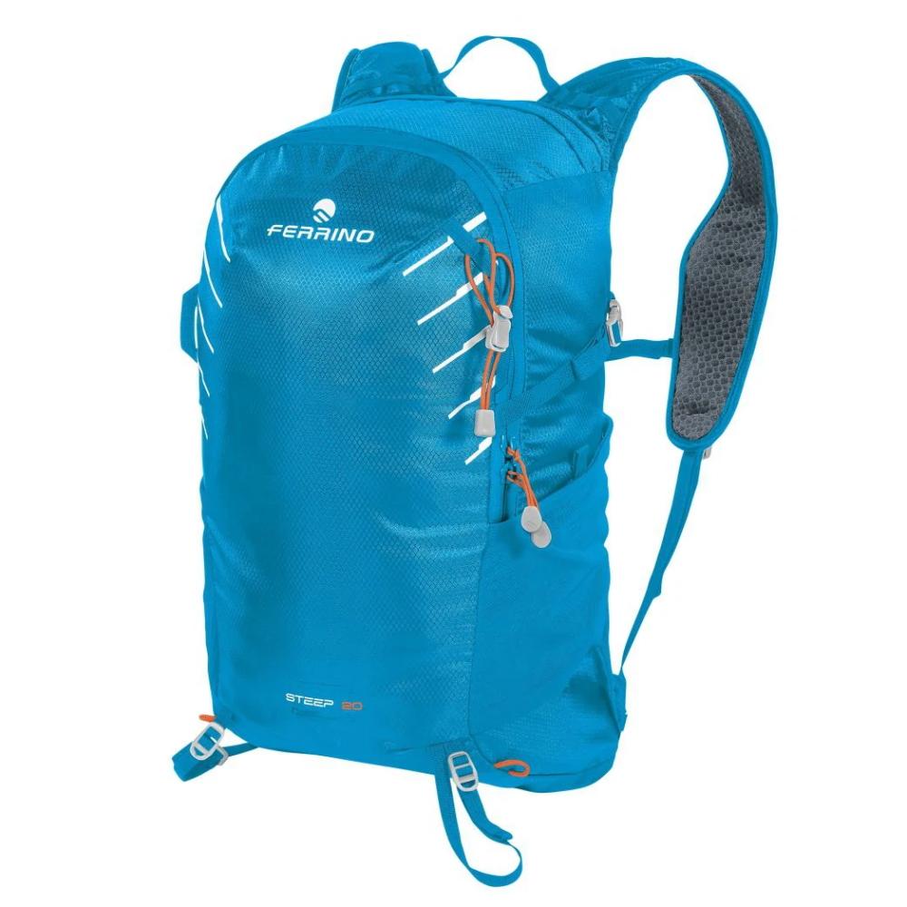 Cyklo a bežecký batoh Ferrino Steep 20 - modrá/zelená/sivá 1
