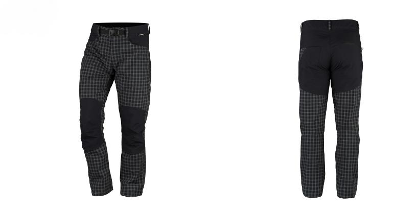 Northfinder pánska travel nohavice kombinované BLINSTER - BLUE/BLACK 1