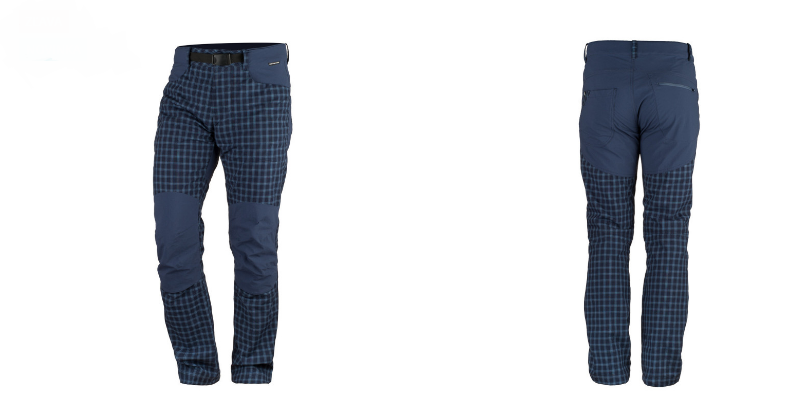 Northfinder pánska travel nohavice kombinované BLINSTER - BLUE/BLACK 2