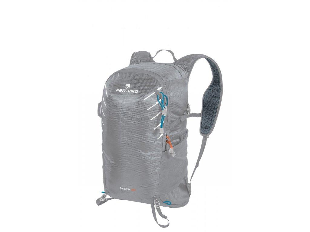 Cyklo a bežecký batoh Ferrino Steep 20 - modrá/zelená/sivá 2