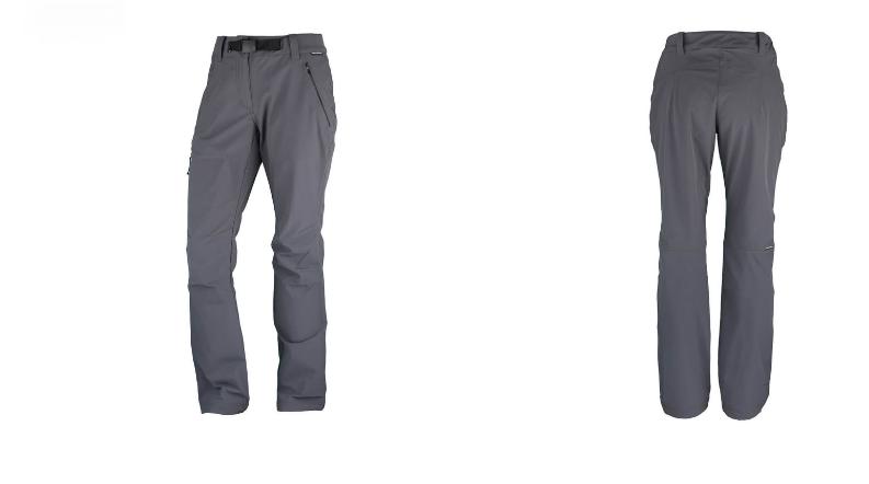 Northfinder dámske trekingové nohavice active move 1L TEREZA - Black/Grey 2