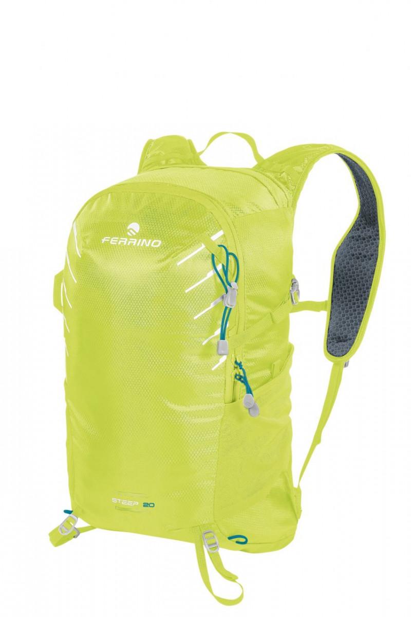 Cyklo a bežecký batoh Ferrino Steep 20 - modrá/zelená/sivá 3