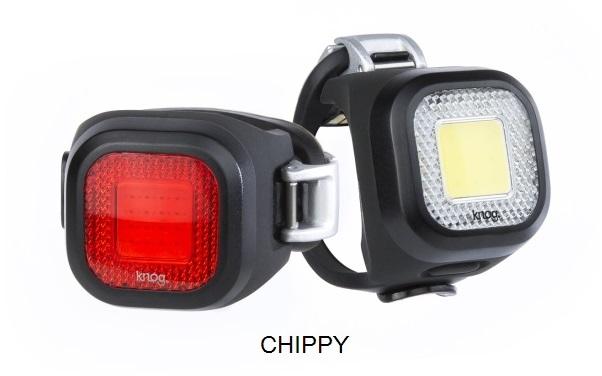 KNOG Blinder MINI Twinpack - Sada predná a zadná blikačka 4
