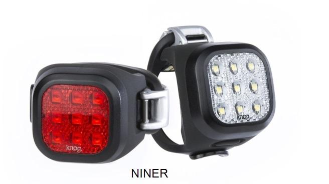 KNOG Blinder MINI Twinpack - Sada predná a zadná blikačka 2