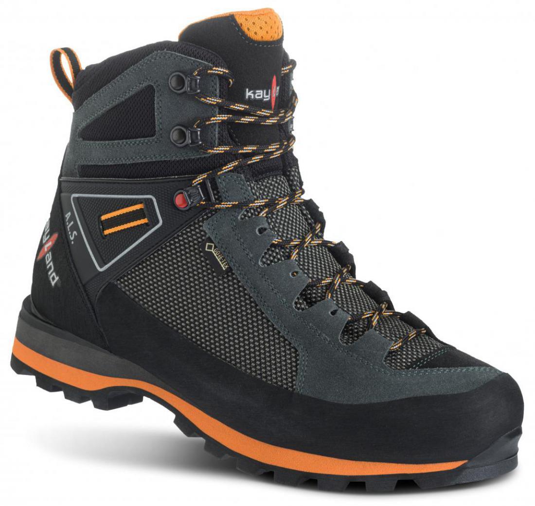 Turistická obuv Kayland Cross Mountain GTX - grey orange 1