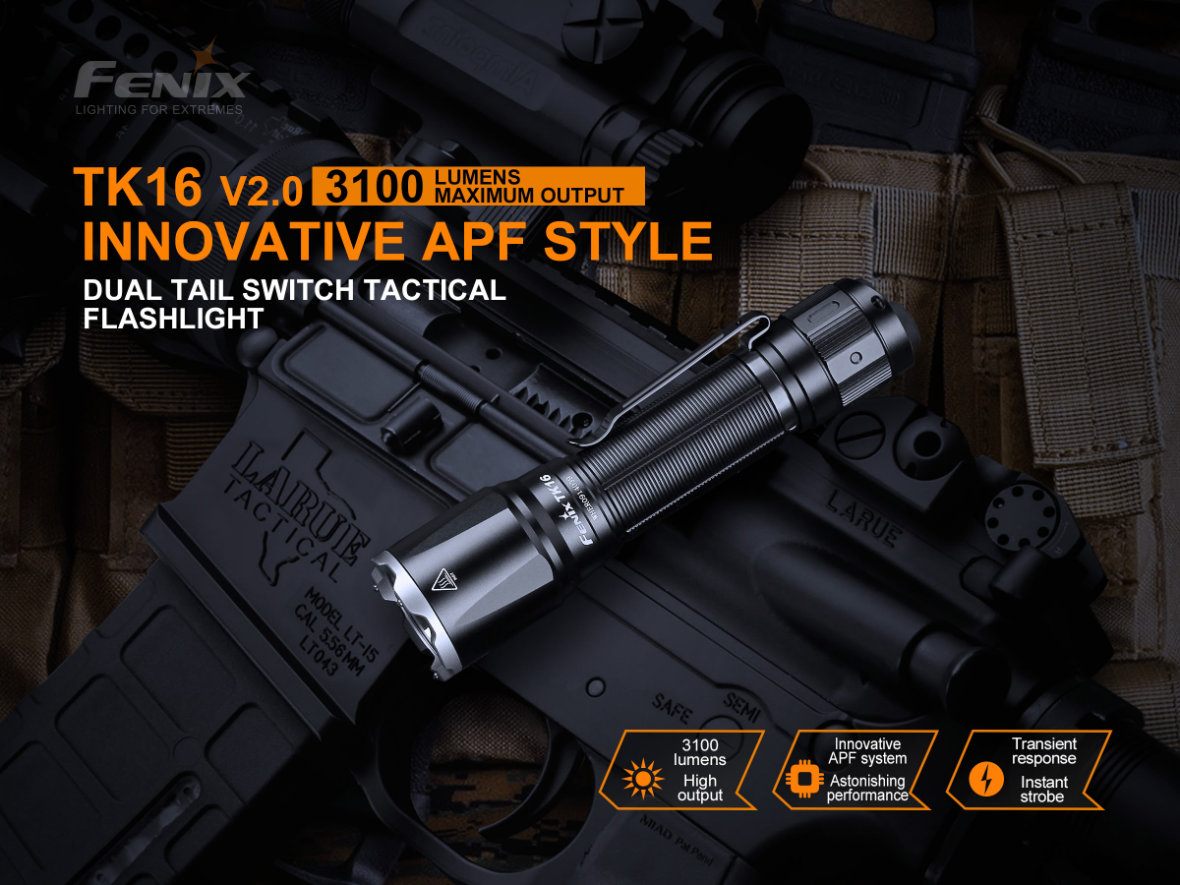 Taktická LED svítilna Fenix TK16 V2.0 2